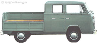 Green Double Cab